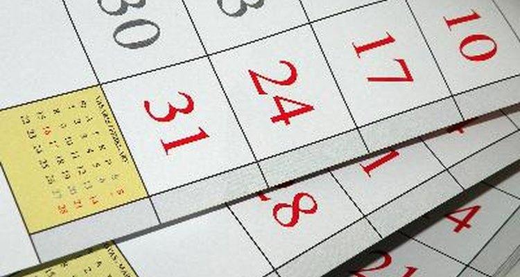 Crie um calendário no Microsoft Access para a manter-se em dia