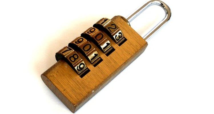 Es fácil cambiar la combinación en la mayoría de los productos Master Lock.