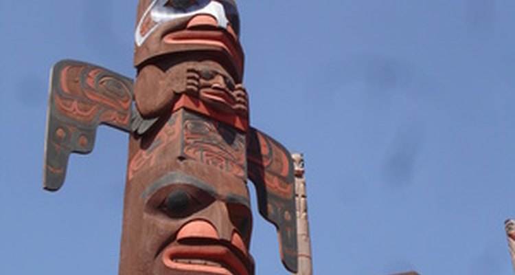 There are many different kinds of totem poles.