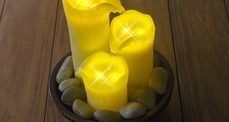 Las velas pueden encender el estado de ánimo adecuado.
