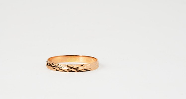 Before investing in an antique gold ring, verify its authenticity.