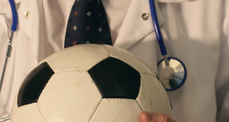 A sports medicine doctor is paid to treat sports-related injuries.