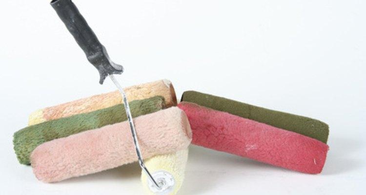 Rolos substitutos para pincéis vêm em uma variedade de texturas para diferentes necessidades