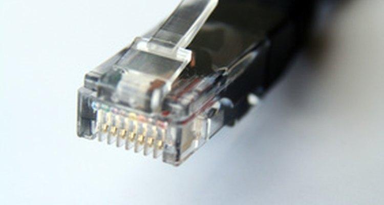 Conector do cabo Ethernet
