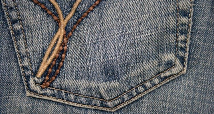 Los jeans estrechos (