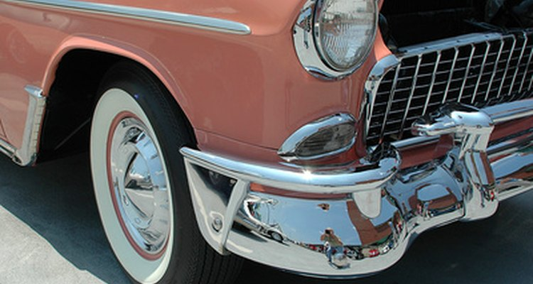 Moon hubcaps became popular in the 1950s as an aftermarket part.