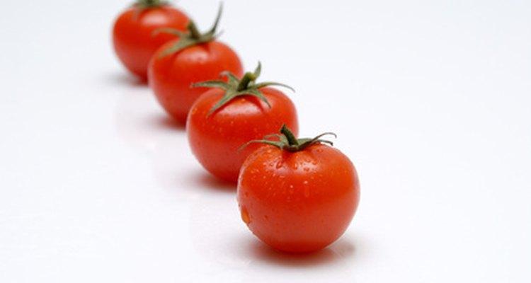 Los tomates requieren de un suelo ácido para crecer.