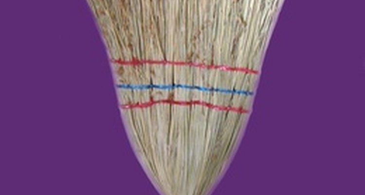 In a pinch, a broom may be used for a limbo pole.