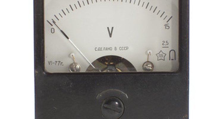 Analogue voltmeters employ a needle to display readings.