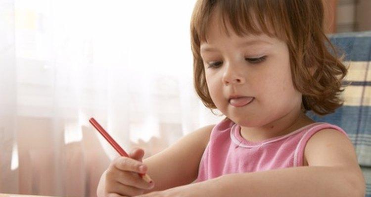 Desenvolver habilidades ajuda os alunos a desenvolver melhor sua escrita e outros movimentos musculares.