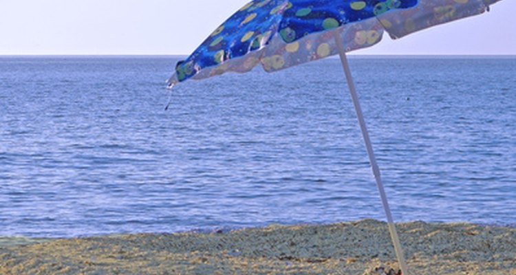 Digging an adequate hole to secure a beach umbrella is easier with the right tool.