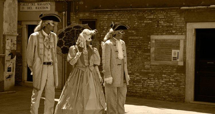 Actors in a play