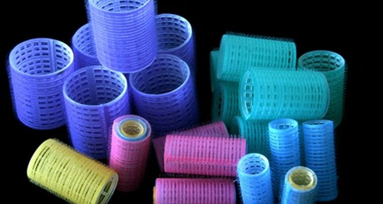 Velcro rollers come in many different sizes.
