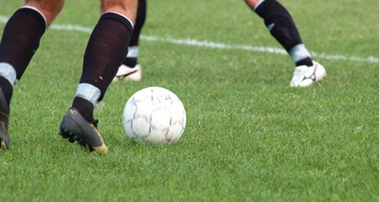 O futebol é um esporte muito ativo