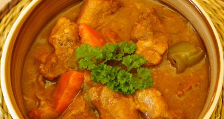 Pressure cooked pig feet make a delicious pork stew.