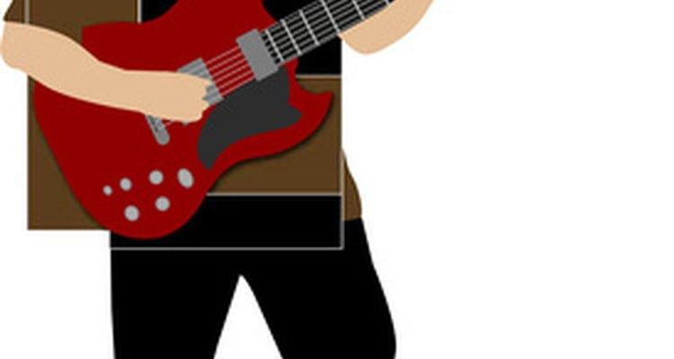 Toque a música para a banda aprender a letra e os acordes