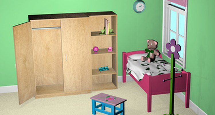 Hay varias maneras sencillas de decorar una habitación unisex para niños.