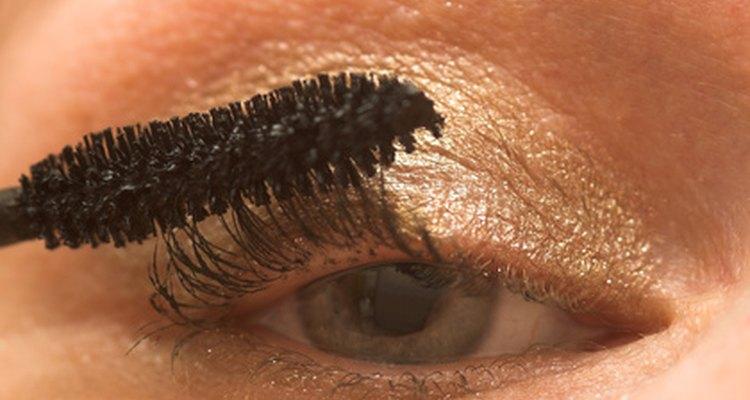 Apply eye make-up as desired.