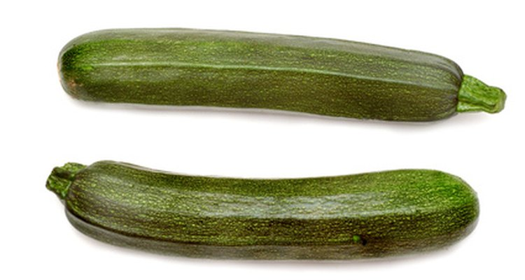 Courgettes are zucchini, a type of squash.