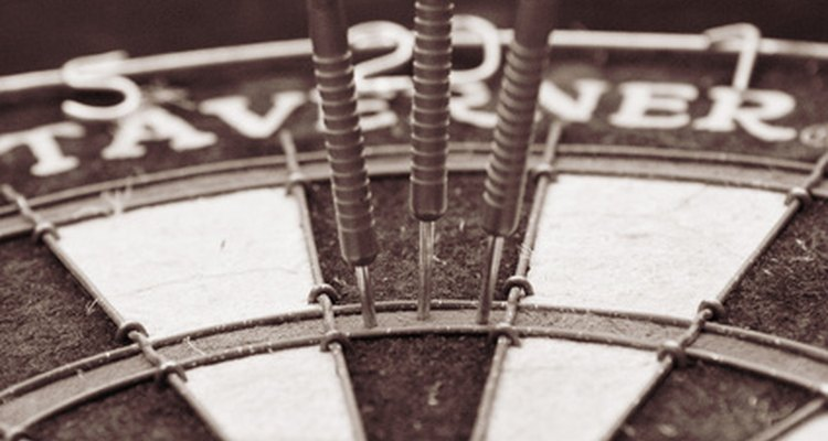 Darts is one of the traditional games played in Belgium.