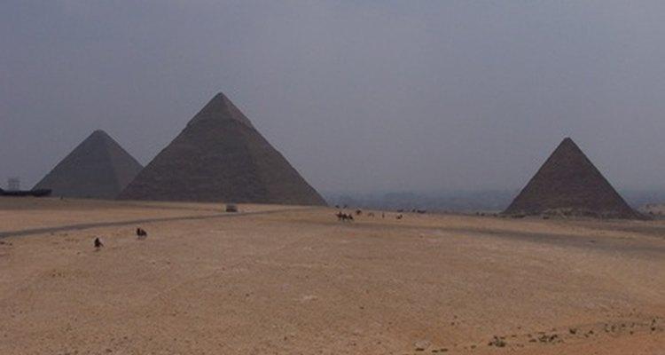 Las pirámides son la única de las siete maravillas del mundo que queda.