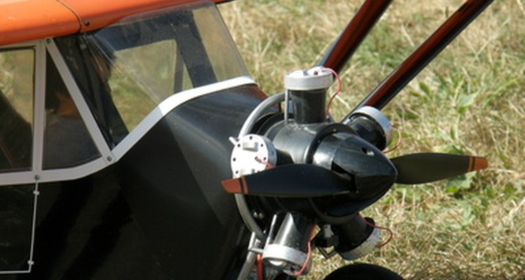 Fuel-proofing an RC aeroplane protects the aeroplane body from splashing fuel.