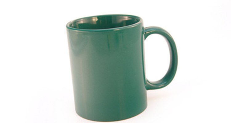 Embellish a plain coffee mug with the design of your choice.