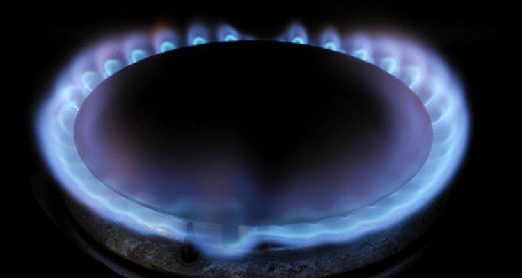 Não importa se é um fogão ou um aquecedor, o gás deve sempre queimar na cor azul