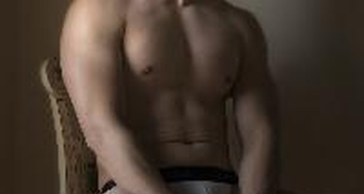 Male underwear models portray the underwear in an attractive light to drive sales.