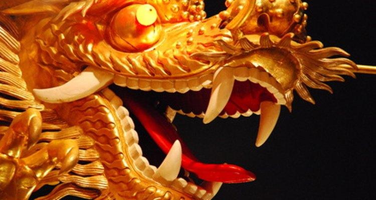 El legendario dragón chino.