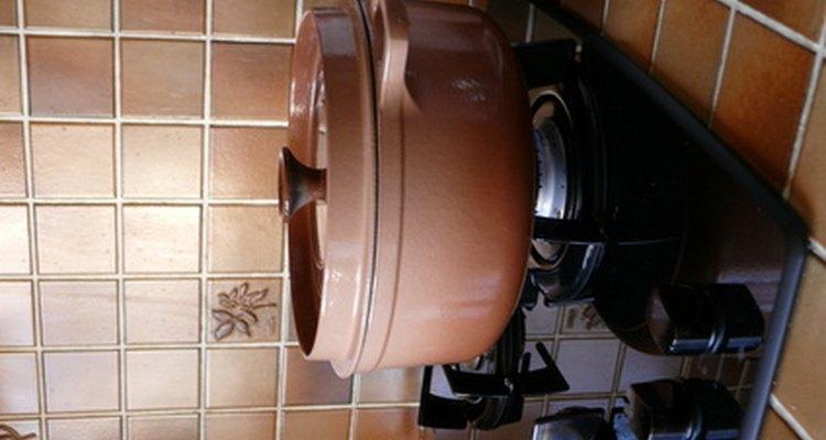 Las cocinas a gas permiten un control preciso de la temperatura durante la cocción.
