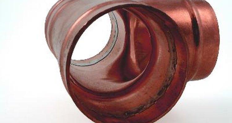 Tubo de cobre.