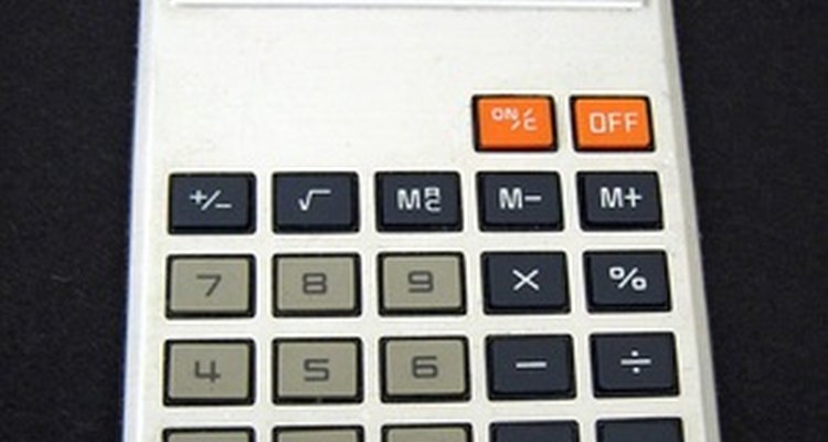 A calculator makes figuring the markup easy.