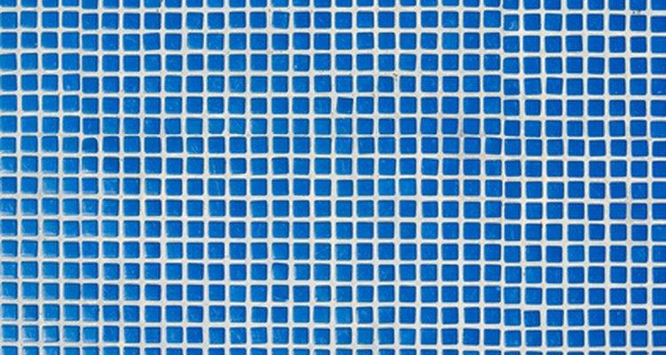 Azulejo azul.
