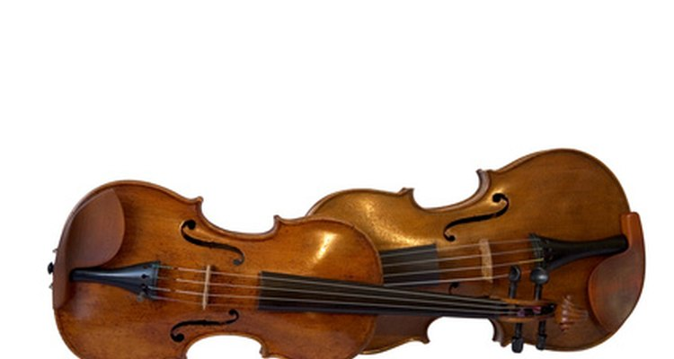 You can play viola parts on a violin.