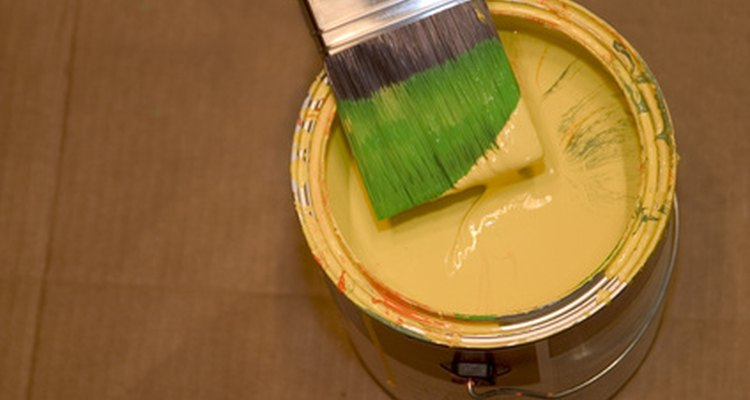 Use a few simple steps to remove paint from clothes.