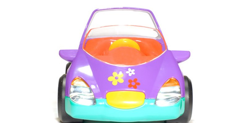 Your child will spend hours driving his battery powered toy car around your yard.
