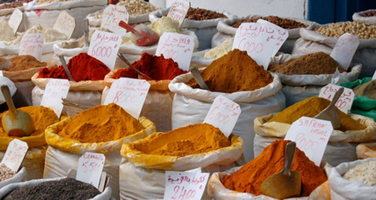 O tempero cajun é uma mistura de diversos ingredientes