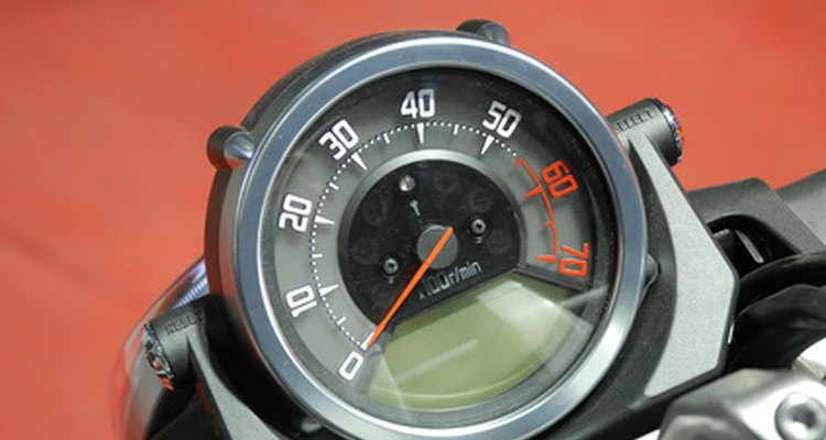 Tachometers gauge an engine's rotational speed.
