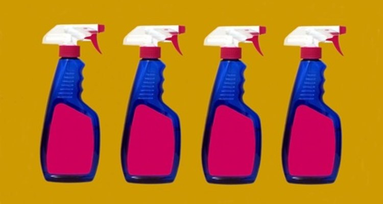 Household cleaners use diluted ammonium hydroxide.