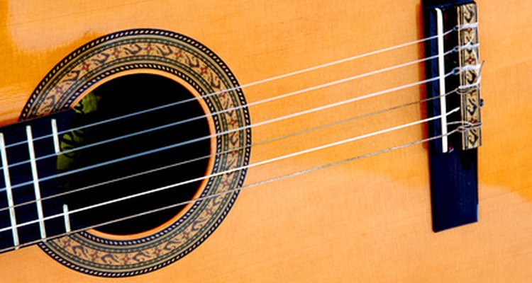 Use the serial number to date your classical guitar.