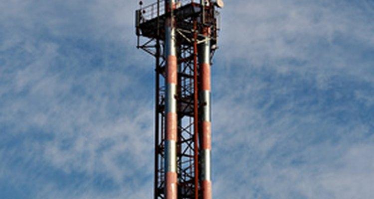 Las torres inalámbricas ayudaron a expandir los alcances de la comunicación de datos.