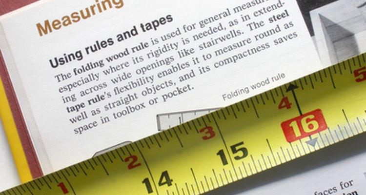 Medidas precisas começam com uma boa compreensão da fita métrica