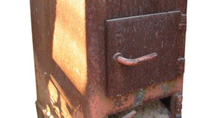 Fogão de ferro fundido