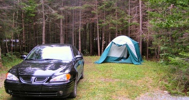 Relájate en un campamento.
