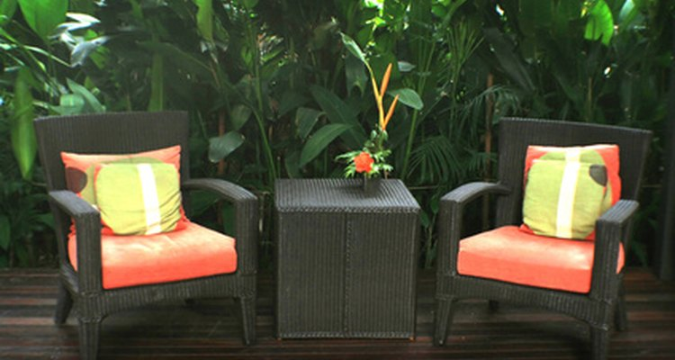 Protect wood patio furniture by preventing infestations.