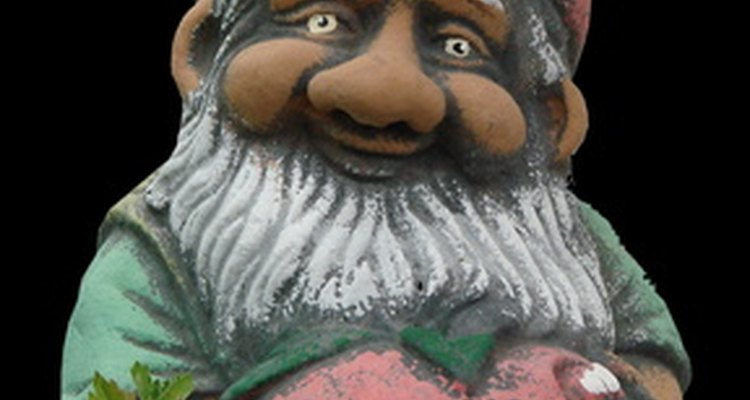 Tom Clark collectable gnome figurines require careful cleaning to preserve the paint and value.