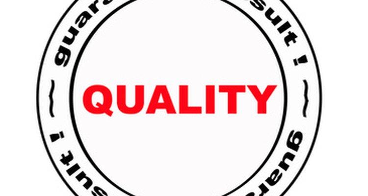Sello de calidad garantizada