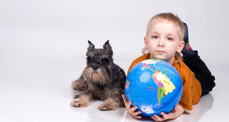 Los perros de terapia pueden ayudar a los niños a aprender.