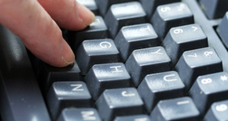 The keys are in different places on American, European and UK keyboards.